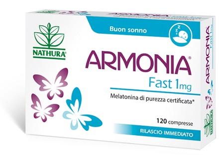 ARMONIA FAST 1 MG MELATONINA 120 COMPRESSE