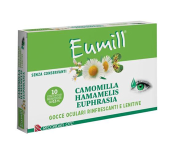 EUMILL GOCCE OCULARI 10 FLACONCINI MONODOSE 0,5 ML