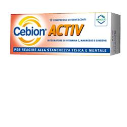 CEBION ACTIVE 12 COMPRESSE EFFERVESCENTI