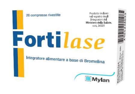 FORTILASE 20 COMPRESSE