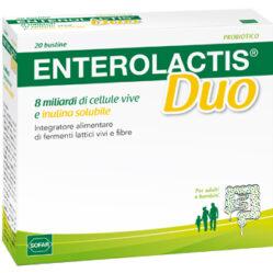 ENTEROLACTIS DUO POLVERE ORALE 20 BUSTINE