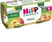 HIPP BIO OMOGENEIZZATO PESCA MELA 100% 2X80 G