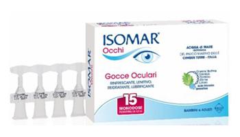 ISOMAR OCCHI GOCCE OCULARI ALL'ACIDO IALURONICO 0,20% 15 FLACONCINI