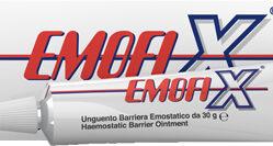MEDICAZIONE SPECIALE ATTIVA UNGUENTO BARRIERA EMOSTATICA EMOFIX 30 G