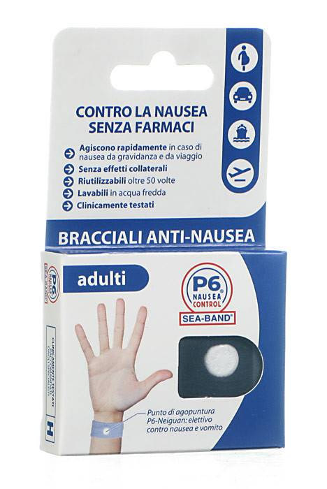 BRACCIALE PER NAUSEA PER ADULTI P6 CONTROL SEABAND
