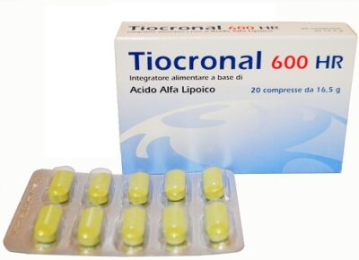 TIOCRONAL 600 HR 20 COMPRESSE