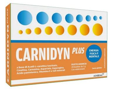 CARNIDYN PLUS 20 BUSTINE DA 5 G GUSTO ARANCIA