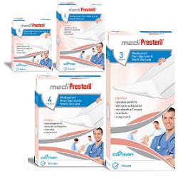 MEDICAZIONE MEDIPRESTERIL POST OPERATORIA DELICATA STERILE 7,5X5 5 PEZZI