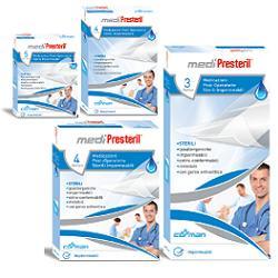 MEDICAZIONE MEDIPRESTERIL POST OPERATORIA IMPERMEABILE STERILE 10X25CM 3 PEZZI