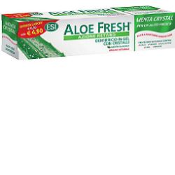 ALOE FRESH MENTA CRYSTAL DENTIFRICIO GEL CON CRISTALLI 100 ML OFFERTA