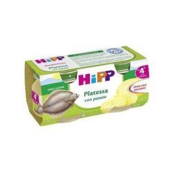HIPP OMOGENEIZZATO PLATESSA CON PATATE 2X80 G