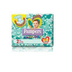 PANNOLINI PER BAMBINI PAMPERS BABY DRY DOWNCOUNT NO FLASH MINI 24 PEZZI BUONO SCONTO