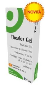 THEALOZ GEL OFTALMICO 30 FLACONCINI MONODOSE 0,4 G