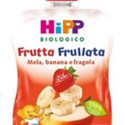 HIPP BIO HIPP BIO FRUTTA FRULLATA MELA BANANA FRAGOLA 90 G
