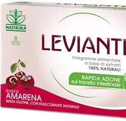 LEVIANTIS SENZA GLUTINE GUSTO AMARENA 8 DOSI / 16 BUSTE