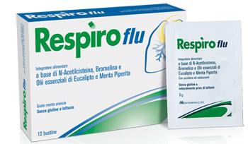 RESPIRO FLU 12 BUSTINE