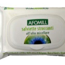 AFOMILL SALVIETTINE STRUCCANTI OLIO MICELLARE