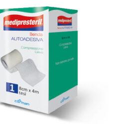 BENDA ADESIVA MEDIPRESTERIL 8X400 CM
