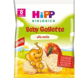 HIPP BIO HIPP BIO BABY GALLETTE DI RISO ALLA MELA 30 G