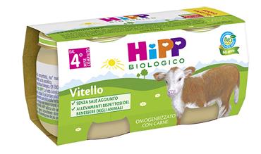 HIPP BIO HIPP BIO OMOGENEIZZATO VITELLO 2X80 G