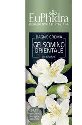 EUPHIDRA BAGNOCREMA NUTRIENTE GELSOMINO IN FLACONE CON ETICHETTA