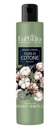 EUPHIDRA BAGNOCREMA NUTR COTONE BAGNO CREMA IN FLACONE CON ETICHETTA