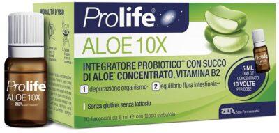PROLIFE ALOE 10 FLACONI X 8 ML