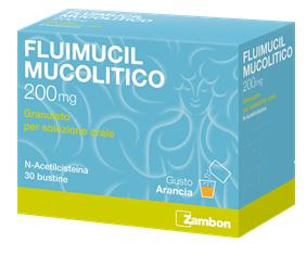 FLUIMUCIL MUCOL*OS 30BUST200MG