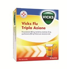 VICKS FLU TRIPLA A*OS POLV10BS