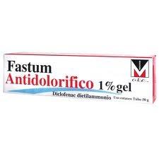 FASTUM ANTIDOLORIFICO*1% 50G