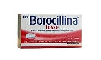 NEOBOROCILLINA TOSSE*20PASTL