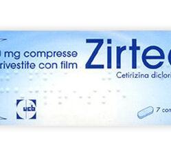 ZIRTEC*7CPR RIV 10MG
