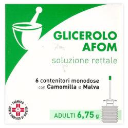 GLICEROLO AFOM*AD 6CONT 6,75G