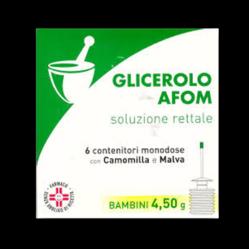 GLICEROLO AFOM*BB 6CONT 4,5G
