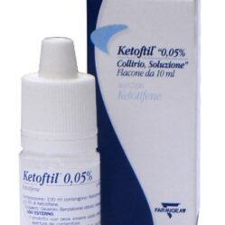 KETOFTIL*COLL FL 10ML 0,5MG/ML