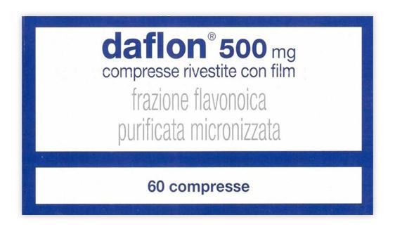 DAFLON*60CPR RIV 500MG