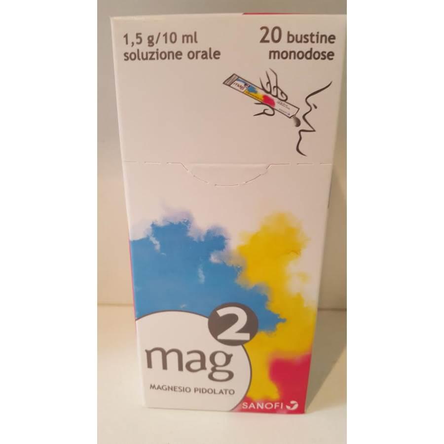 MAG 2*OS SOLUZ 20BUST1,5G/10ML