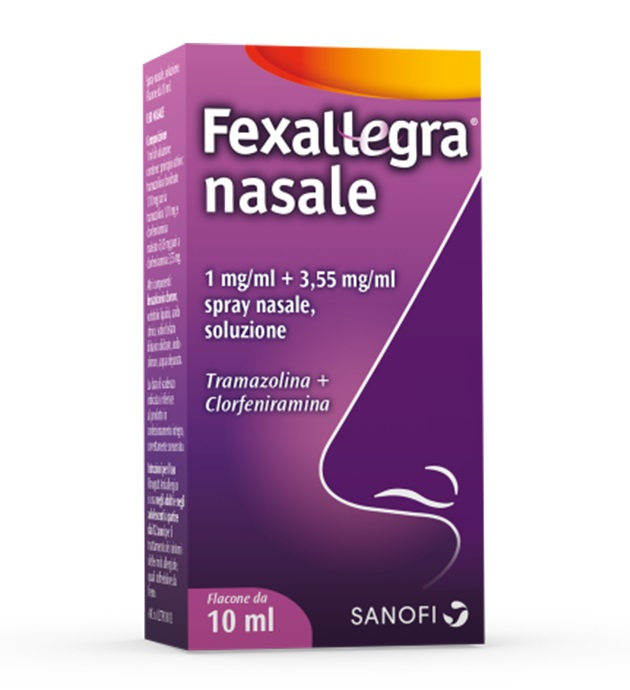 FEXALLEGRA NASALE*SPRAY FL10ML