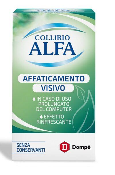 COLLIRIO ALFA AFFATICAMENTO VISIVO 10 ML